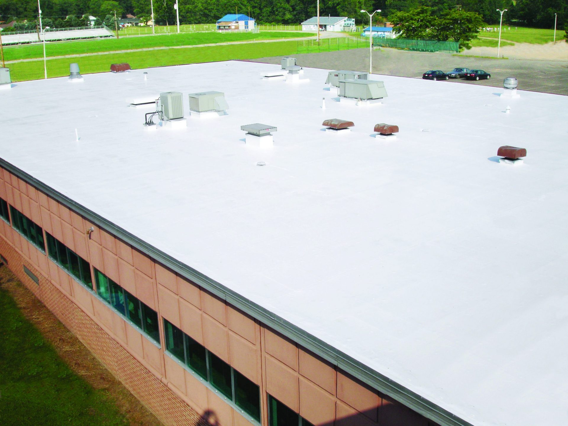 Our membrane roof repair system in moline.